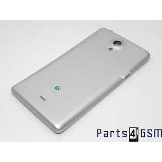 Sony Xperia T LT30i Battery Cover Silver 1263-3514
