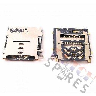 Samsung A300F Galaxy A3 MicroSD Card Reader Connector, 3709-001860