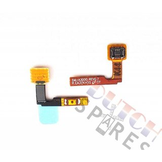 Samsung A300F Galaxy A3 Power key flex cable, GH96-07716A