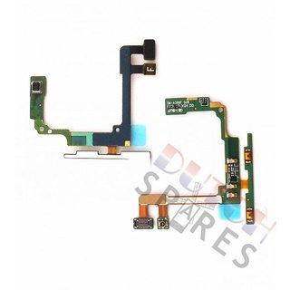 Samsung A300F Galaxy A3 Volume knop flex, Zwart, GH96-07832A