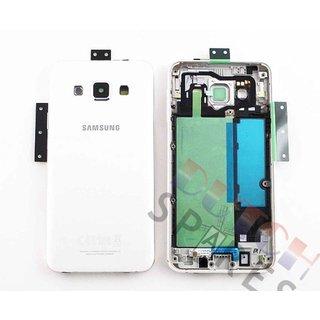 Samsung A300F Galaxy A3 Achterbehuizing, Wit, GH96-08196A