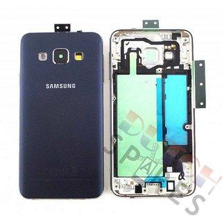 Samsung A300F Galaxy A3 Achterbehuizing, Zwart, GH96-08196B