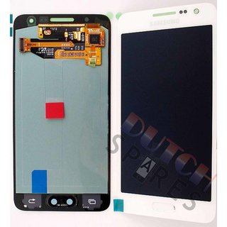 Samsung A300F Galaxy A3 LCD Display Modul, Weiß, GH97-16747A