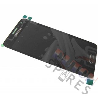 Samsung A300F Galaxy A3 LCD Display Module, Black, GH97-16747B