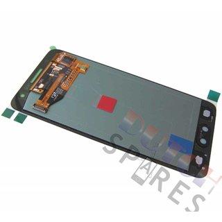 Samsung A300F Galaxy A3 LCD Display Modul, Schwarz, GH97-16747B