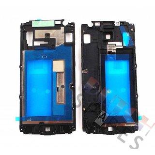 Samsung A300F Galaxy A3 Middle Cover, Black, GH98-34735A