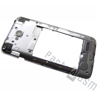 LG D320 L70 Middenbehuizing, Zilver, ACQ86841502, ACQ87292001
