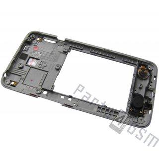 LG D320 L70 Middle Cover, Silver, ACQ86841502, ACQ87292001