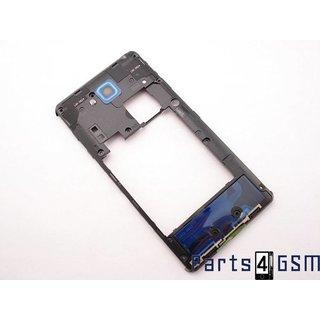LG D605 Optimus L9 II Middenbehuizing, Zwart, ACQ86621502