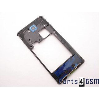 LG D605 Optimus L9 II Middle Cover, Black, ACQ86621502