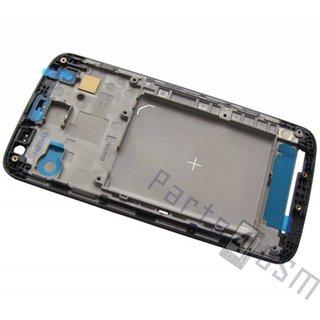 LG G2 Mini D620 Front Cover Frame, Zwart, ACQ86994402
