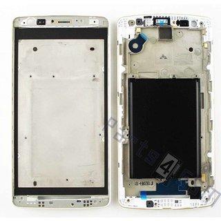 LG D722 G3 S Front Cover Frame, Wit, ACQ87131602, ACQ87759001