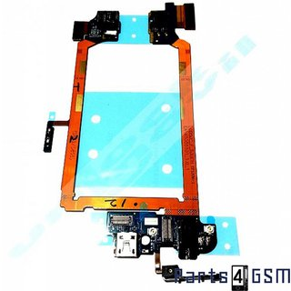 LG Optimus G2 D802 Oplaadingang USB Poort Connector Flex  + Microfoon EBR77492001