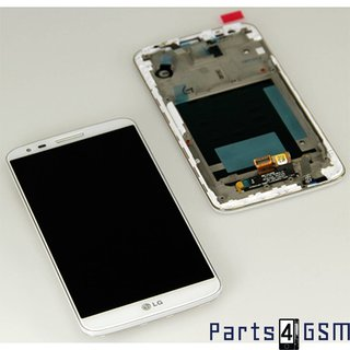 LG G2 D802 LCD Display + Touchscreen + Frame White ACQ86917702