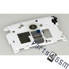 LG Middle Cover Camera G2 D802, White, ACQ86814002