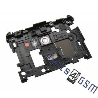 LG G2 D802 Middenbehuizing Camera, Zwart, ACQ86814001