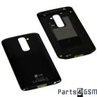 LG Achterbehuizing G2 D802, Zwart, ACQ86750901