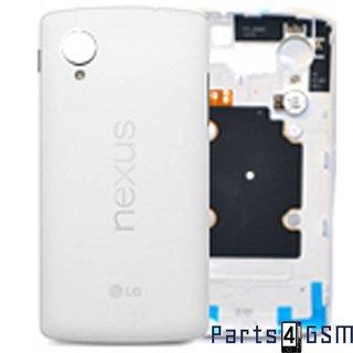LG Nexus 5 D820 Achterbehuizing, Wit, ACQ86691012