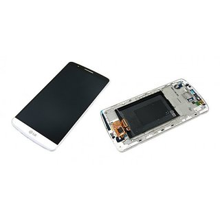 LG D855 G3 LCD Display Module, White, ACQ87190301