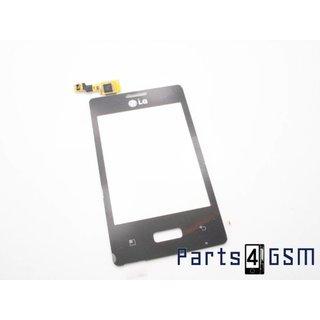 LG Optimus L3 E400 Touchscreen Display Zwart