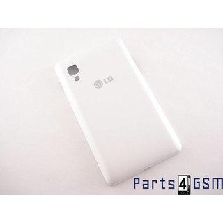 LG E440 Optimus L4 II Battery Cover, White, MCK67556801
