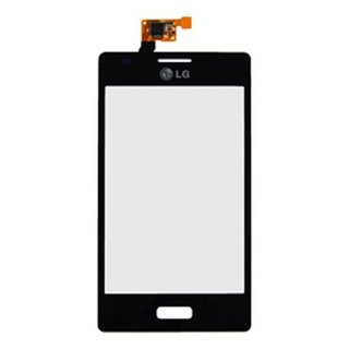 LG Optimus L5 E610 Touchscreen Display EBD61345904 Zwart
