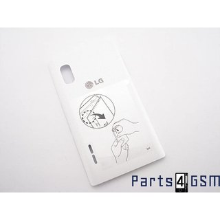 LG Optimus L5 E610 Accudeksel Wit excl. NFC Antenne EAA62827703