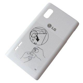 LG Optimus L5 E610 Battery Cover White incl. NFC Antenna