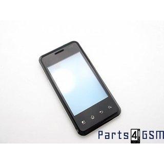 LG Optimus Chic E720 Touchscreen Display + Frame Zwart acgk0172002