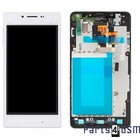 LG Optimus G E975 Internal Screen(LCD) + Touchscreen + Frame White ACQ86366902