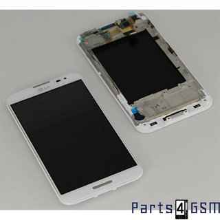 LG Optimus G Pro E985 LCD Display + Touchscreen + Frame White ACQ86379202