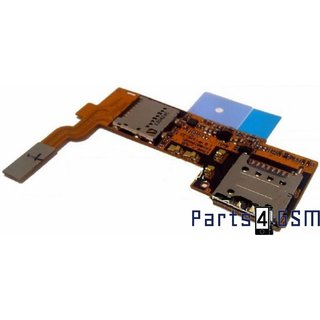 LG Optimus G Pro E985 Simkaartlezer + MicroSD Connector Flex EBR76594801