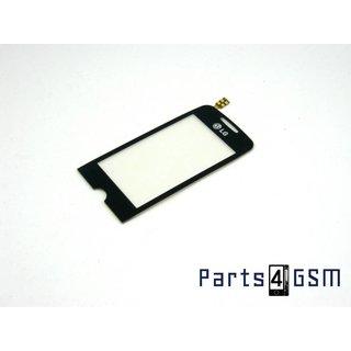 LG GS290 Cookie Fresh Touchpanel Glas, Buitenvenster Raampje Zwart