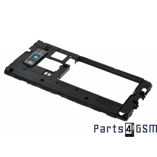 LG P700-Optimus-L7 Mid Cover ACQ86109702 Black2