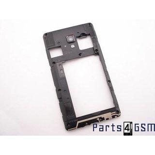 LG Optimus L7 II P710 Middenbehuizing Zwart ACQ86522301