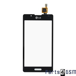 LG P710 Optimus L7 II Touchscreen Display Zwart EBD615255017/5