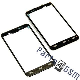 LG P875-Optimus-F5 Front Cover Frame, Zwart, ACQ8635401
