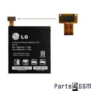 LG BL-T3 Accu P895 Optimus Vu 2080mAH