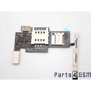 LG Optimus Black P970 Simcard + MicroSD connector EBR73418508