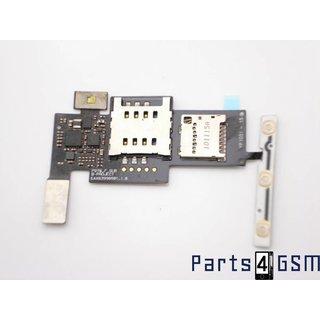 LG Optimus Black P970 Simkaart + MicroSD connector EBR73418508