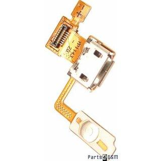 LG P970 Optimus Black Connector Aan / Uit Flex USB-poort Oplaadingang EBR73418511