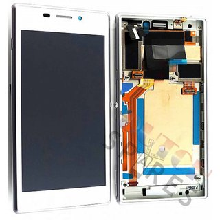 Sony Xperia M2 D2303, D2305, D2306 Lcd Display Module, Wit, 78P7120003N