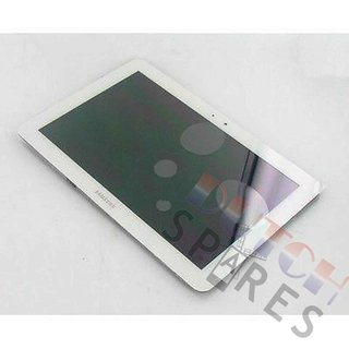 Samsung Galaxy Tab 10.1 P7500 LCD Display Module, White, GH97-13263A