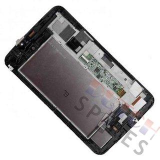 Samsung Galaxy Tab 3 7.0 T2100 LCD Display Module, Black, GH97-14754E