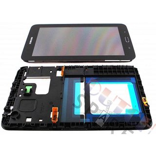 Samsung Galaxy Tab 3 Lite 7.0 T110 LCD Display Module, Black, GH97-15505B