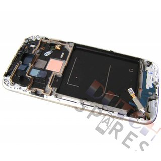 Samsung i9515 Galaxy S4 Value Edition LCD Display Module, White, GH97-15707A