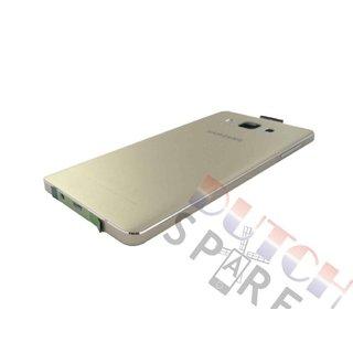 Samsung A700F Galaxy A7 Achterbehuizing, Goud, GH96-08413F