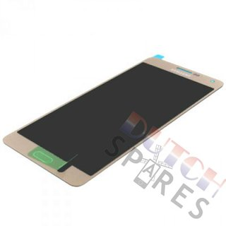 Samsung A700F Galaxy A7 LCD Display Modul, Gold, GH97-16922F