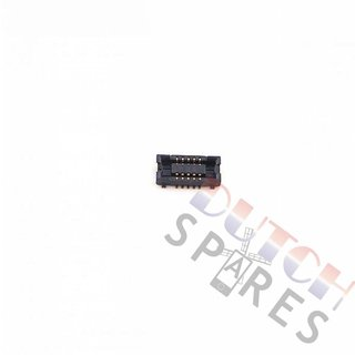 Samsung G920F Galaxy S6 Board Connector BTB Sockel, 3710-002954, 10 Pins