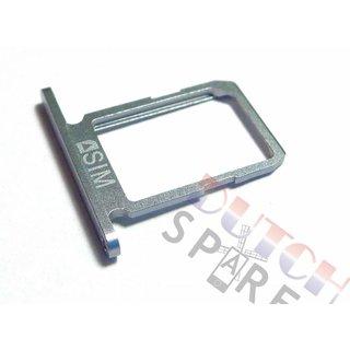 Samsung G920F Galaxy S6 Sim Card Tray Holder, Black, GH64-04556A;GH64-04984A